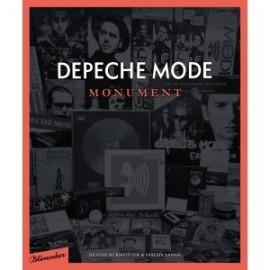 Depeche Mode - Monument (424 oldalas német nyelvű könyv, 2200 fotóval)