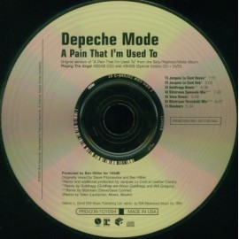 Depeche Mode - A Pain That I'm Used To (USA promo)