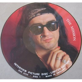 Mission - Interview Picture Disc