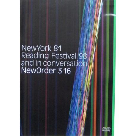 New Order - Reading Festival 98