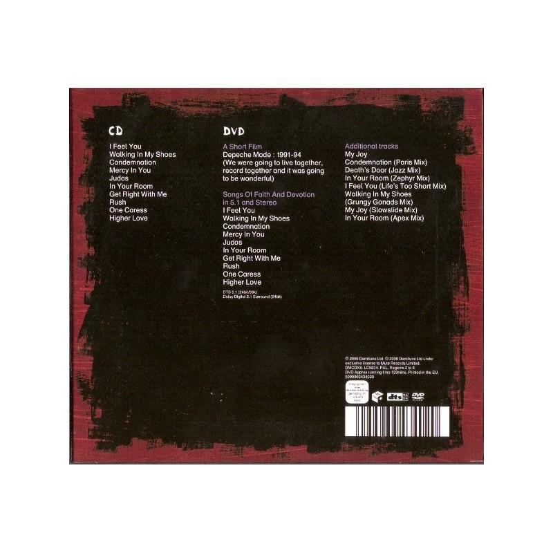 Depeche Mode Songs Of Faith & Devotion - CD/DVD