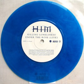 HIM - Vampire Heart (7inch Blue Vinyl)