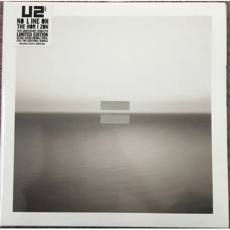 U2 - No Line On The Horizon (2LP Clear Vinyl)