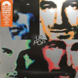U2 - Pop (2LP Orange Coloured Vinyl)