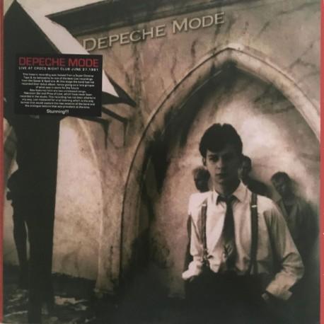 Depeche Mode - Live At Crocs Night Club 1981.06.27. (LP)