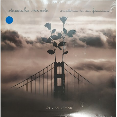 Depeche Mode - Violation In San Francisco (3LP Blue Vinyl)
