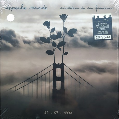 Depeche Mode - Violation In San Francisco (3LP BOX plus TourBook)