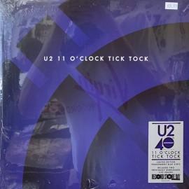 U2 - 11 O'Clock Tick Tock (Blue Vinyl RSD2020)