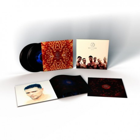 Rammstein - Herzeleid XXV Anniversary Edition (2 Blue-Black Splatter Vinyl)