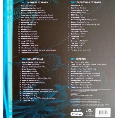 Yello - 40 Years (4CD BOX)